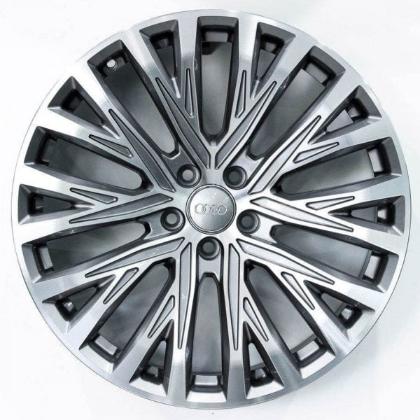 REP 845 MB GREY MACHINED FACE 19X9 5X112 WHEEL & TYRE PACKAGE