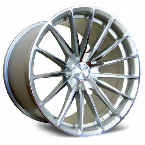 Koya SF09 silver machined wheels