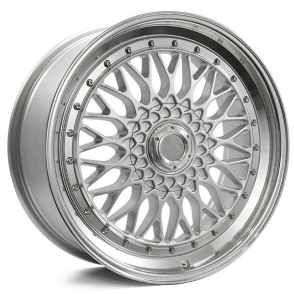Lenso BSX Silver wheels