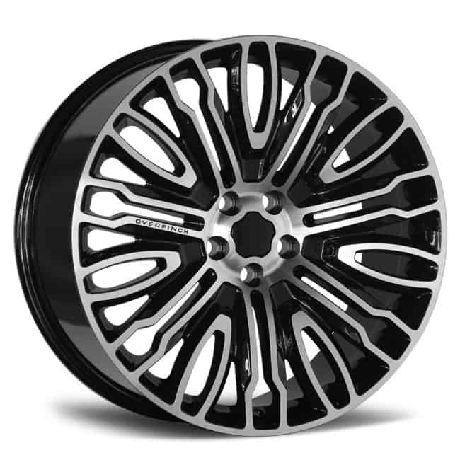REP 822 MB GREY MACHINED FACE 19X9.5 5X112 WHEEL & TYRE PACKAGE