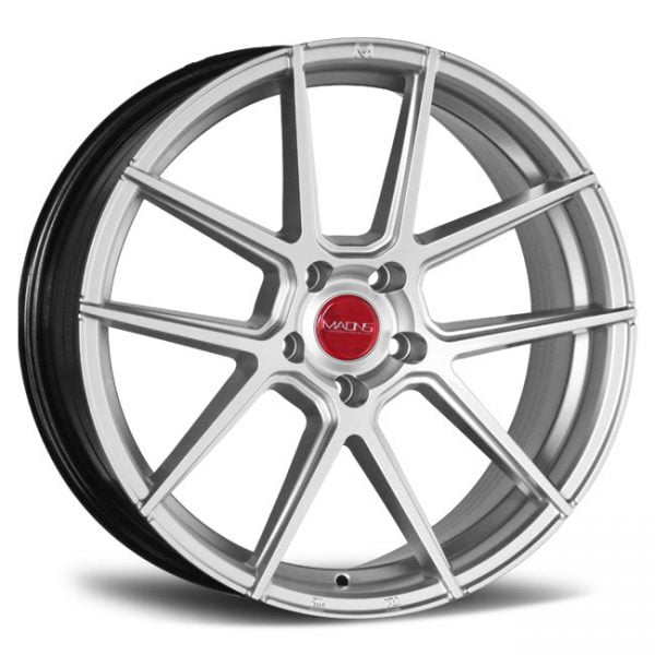 MAONS MR10 SERIES BRIGHT SILVER 19X9.5 5X120 WHEEL & TYRE PACKAGE