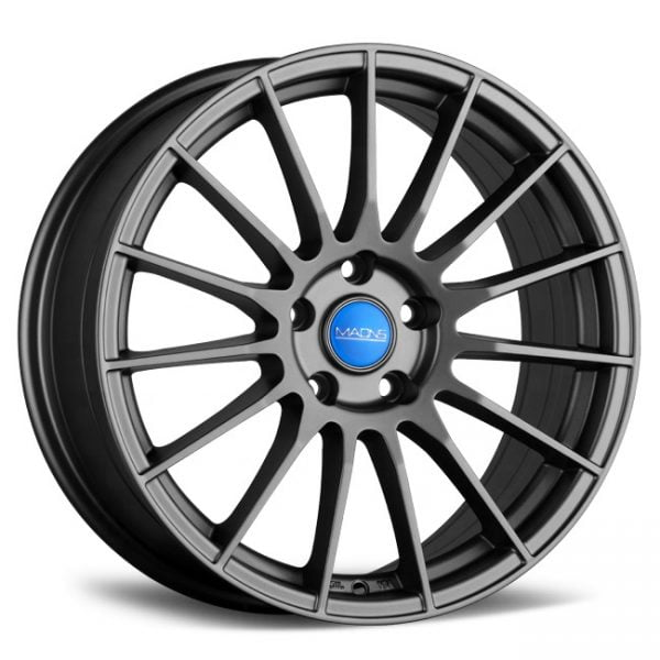 MAONS MR8 SERIES GREY 18X8 5X120 WHEEL & TYRE PACKAGE
