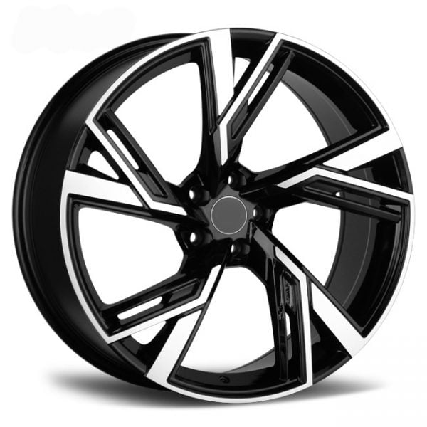 REP 7816 RR BLACK MACHINED FACE 22X10 5X120 WHEEL & TYRE PACKAGE