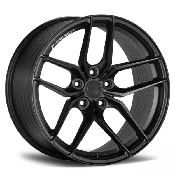 Z-PERFORMANCE ZP2.1 SERIES TEXTURED BLACK 19X9.5 5X105 WHEEL & TYRE PACKAGE