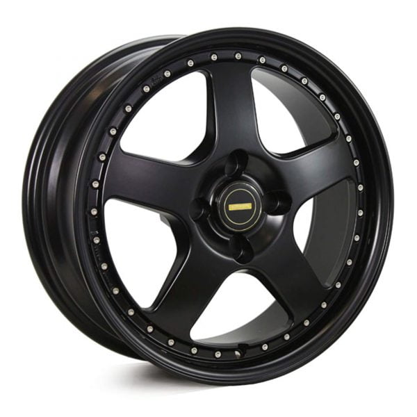 SIMMONS FR-1 SATIN BLACK WHEEL