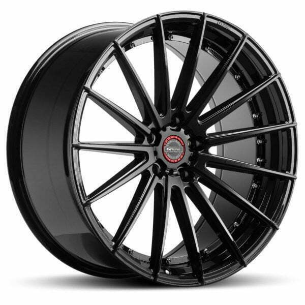 GT form Anvil Gloss Black 22 inch wheels rims