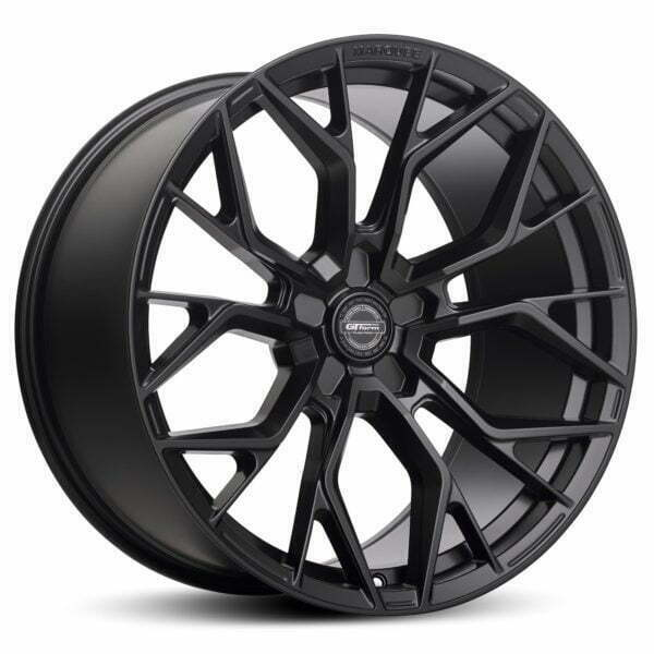 GT form Marquee Satin Black Wheels Performance Rims