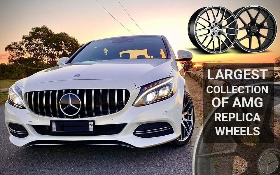 Mercedes amg replica wheels