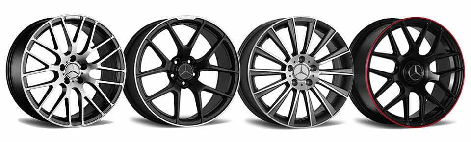 Mercedes amg replica wheels aftermarket rims