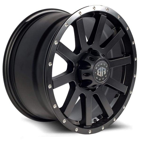 Black Rock Trigger Satin Black Milled Wheel