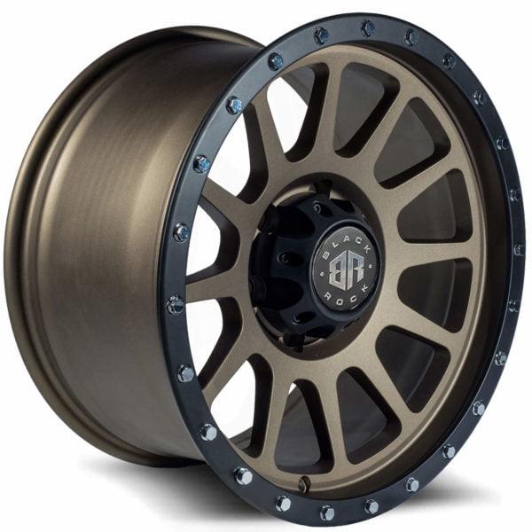 Black Rock Omega Dark Bronze Balck Ring wheel