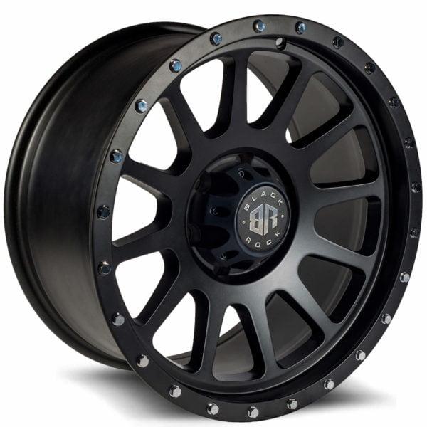 Black Rock Omega Satin Black wheel
