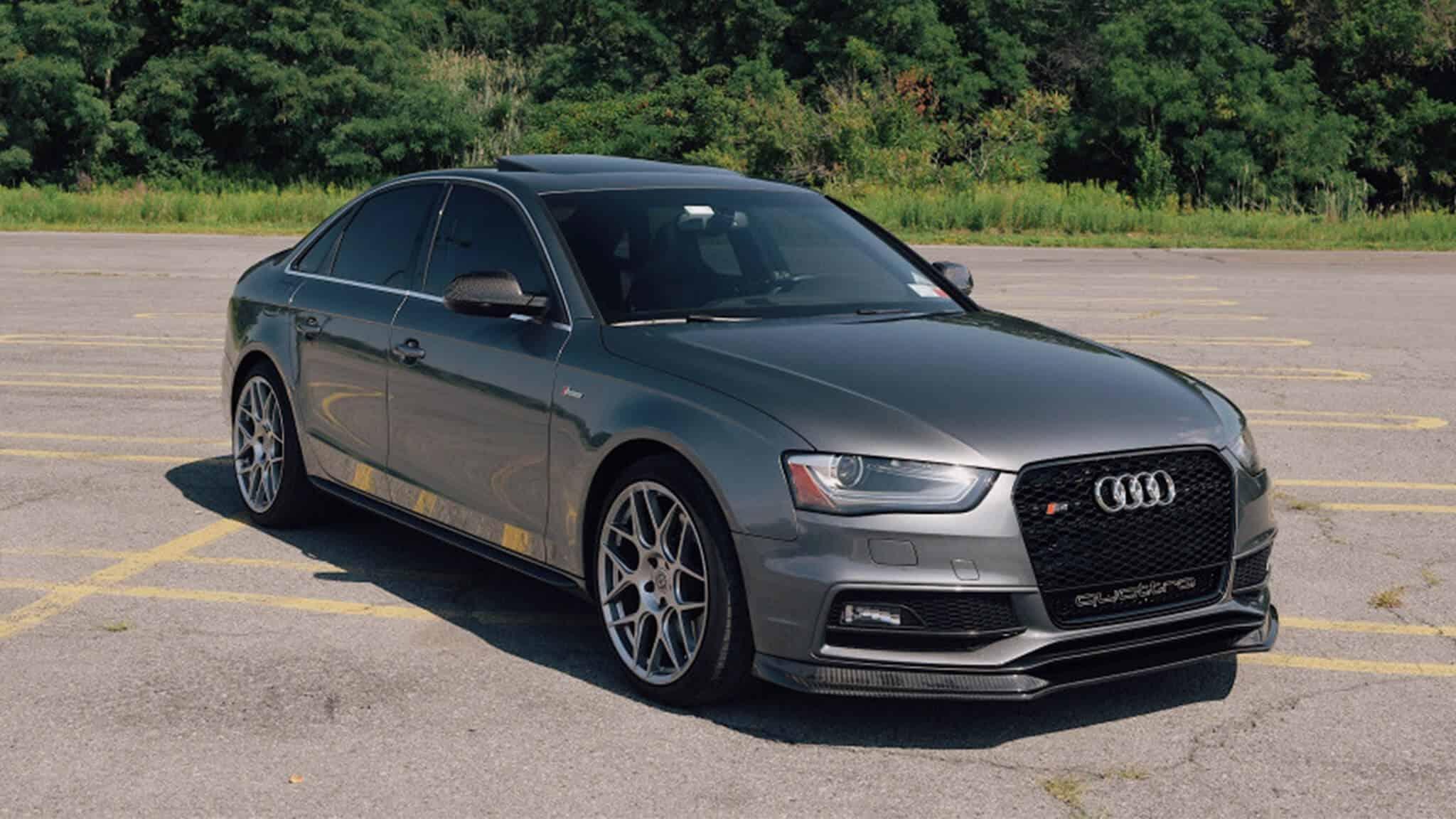 Audi s4 wheel offset