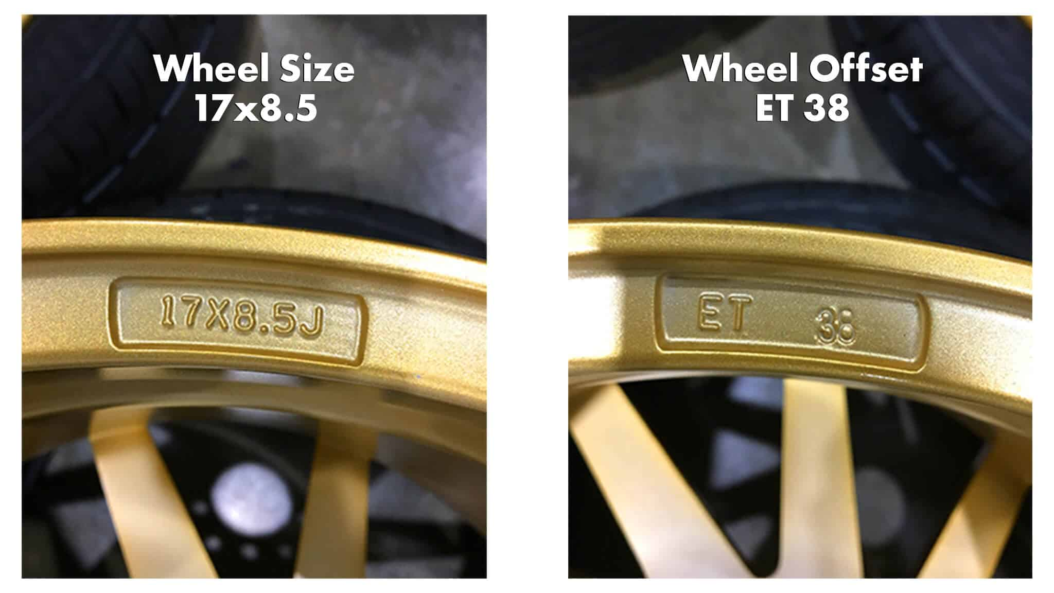 where to find offset on rims