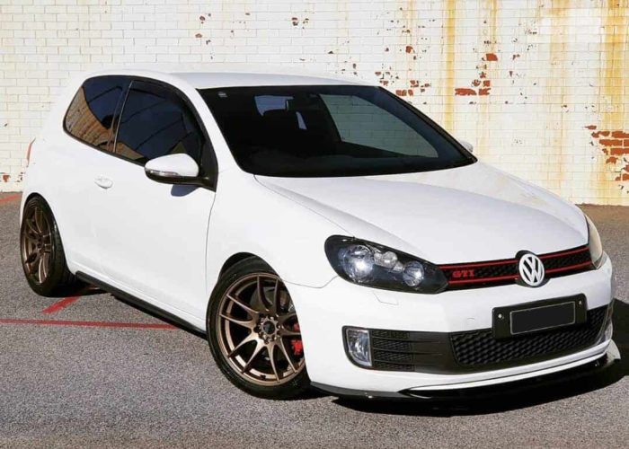 VW GTI Avid AV-32 Matte Bronze Wheels