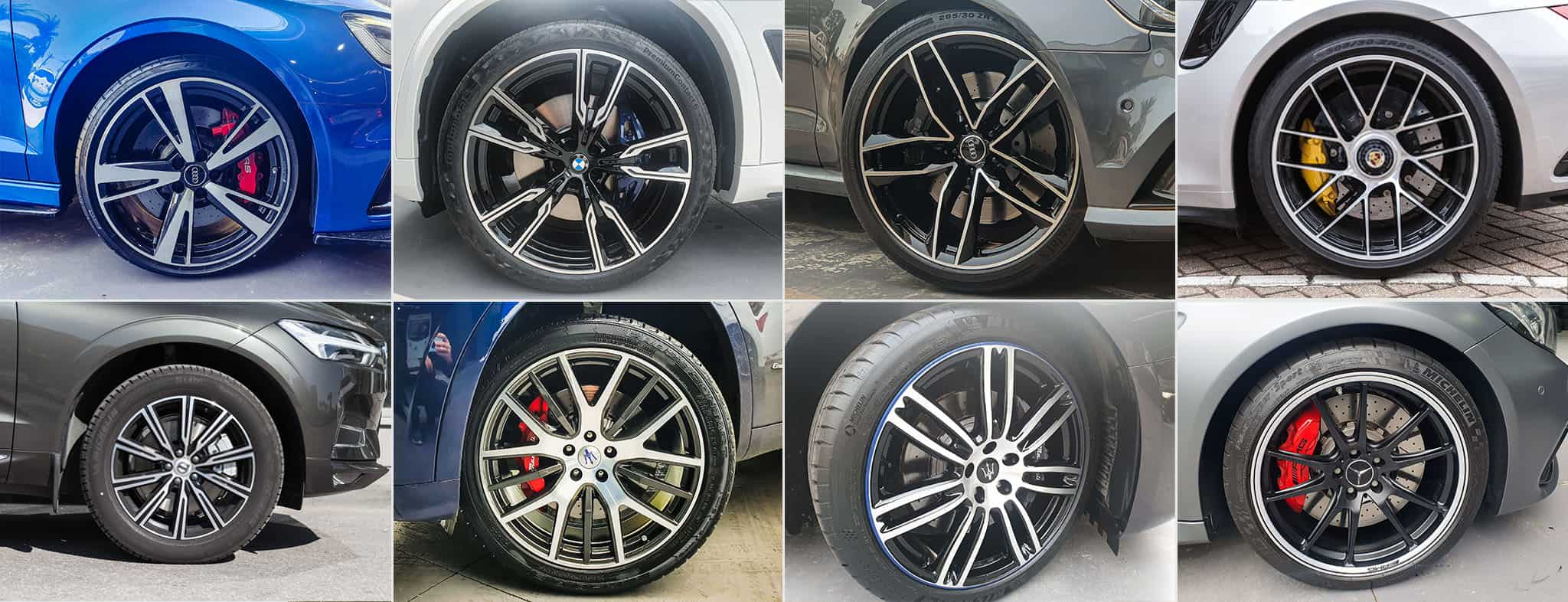 machine face alloy wheel repair service