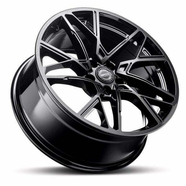 GT form Interflow Gloss Black Wheels Performance Rims