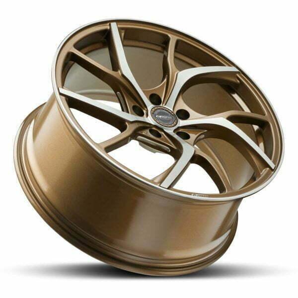 GT form Revert Bronze Machined Face wheel rim performance wheels