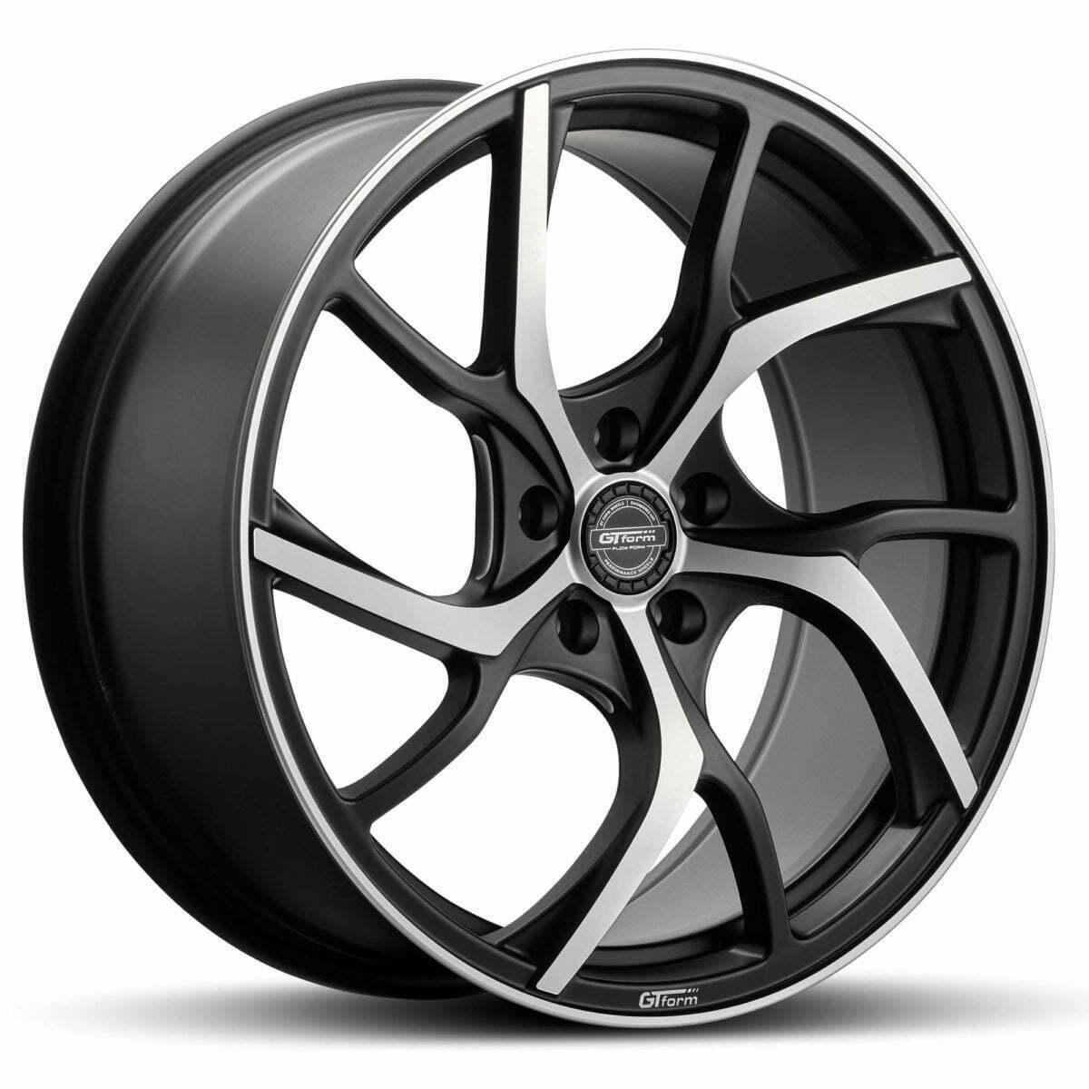 GT form Revert Satin Black Machined Face wheel rim performance wheels