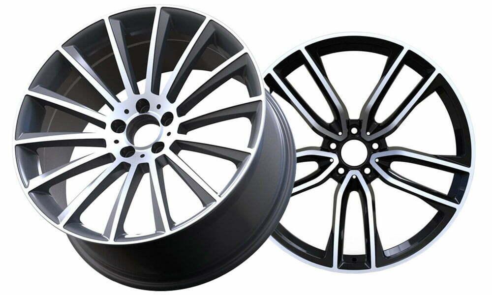 machined alloy wheel repair