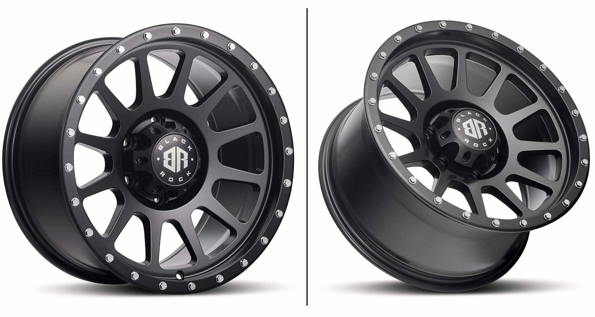 Black Rock Omega satin black wheel rim