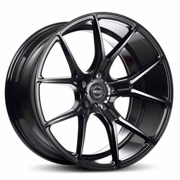 GT form Venom Gloss Black Wheels Performance Rims