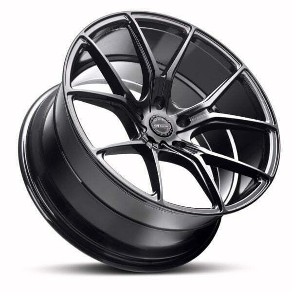 GT form Venom Gloss Black Wheels Performance Rims