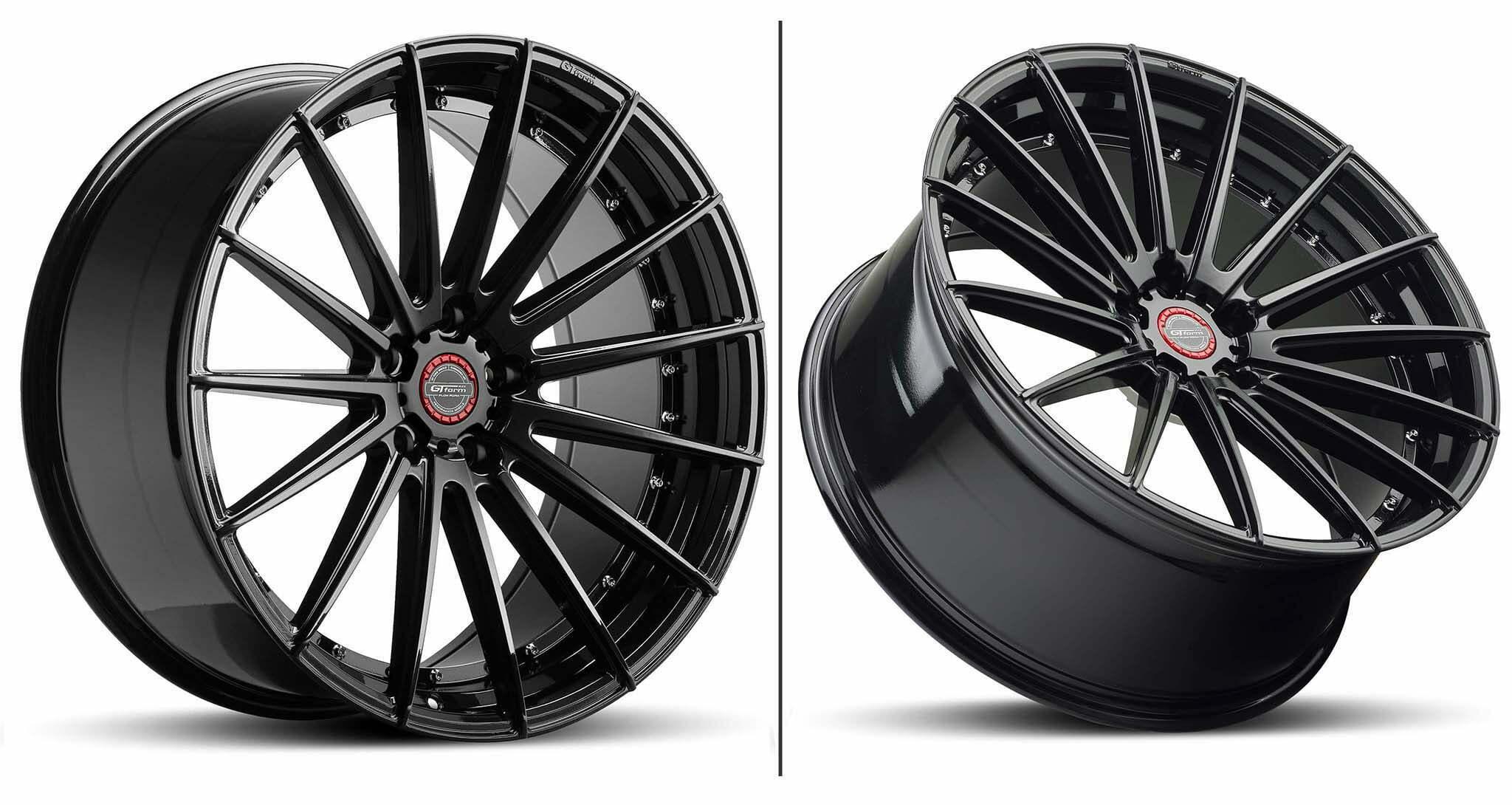 GT Form Anvil Gloss Black Wheel Performance Rims