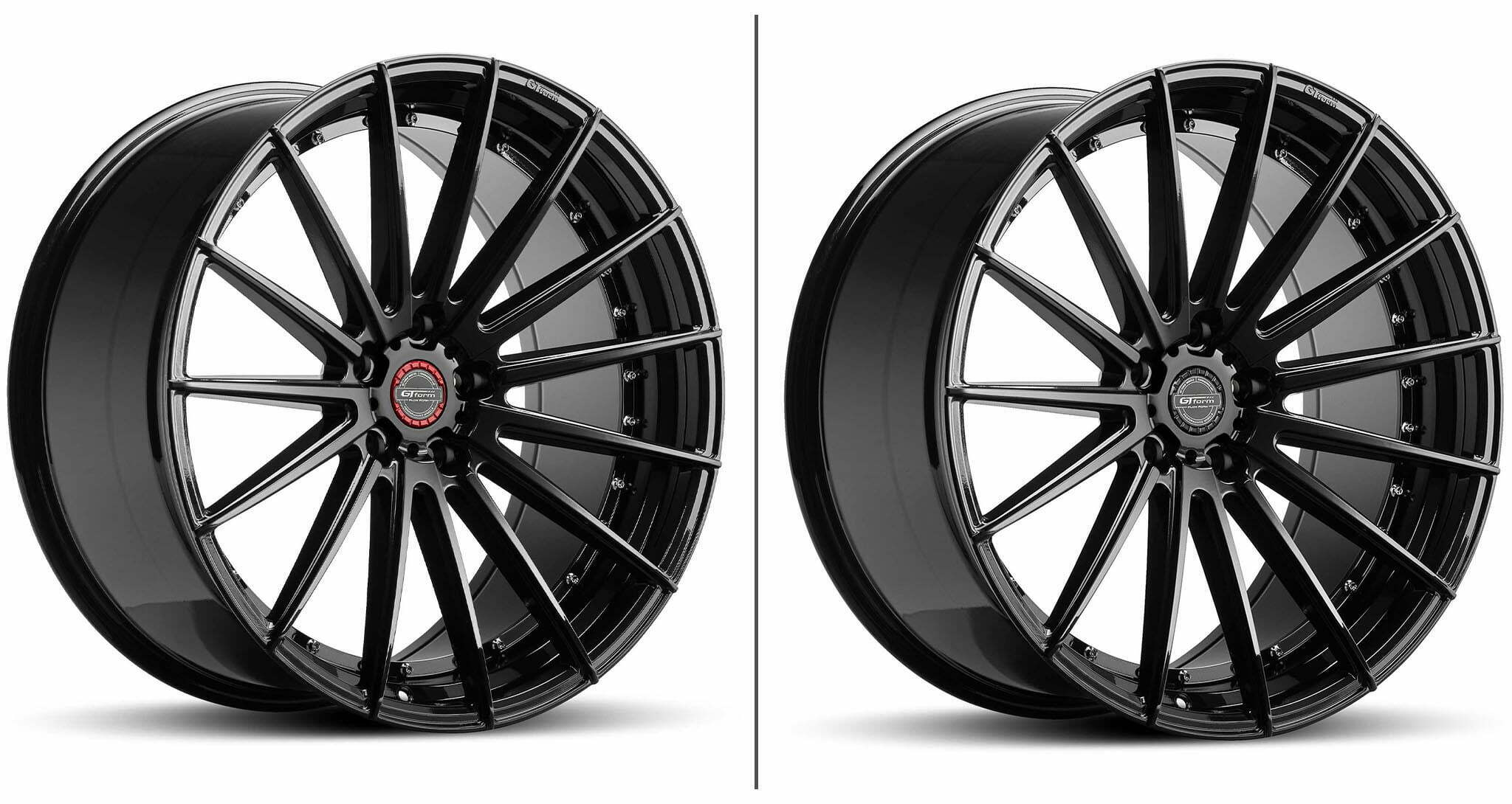 GO Form anvil wheels gloss black 22 inch
