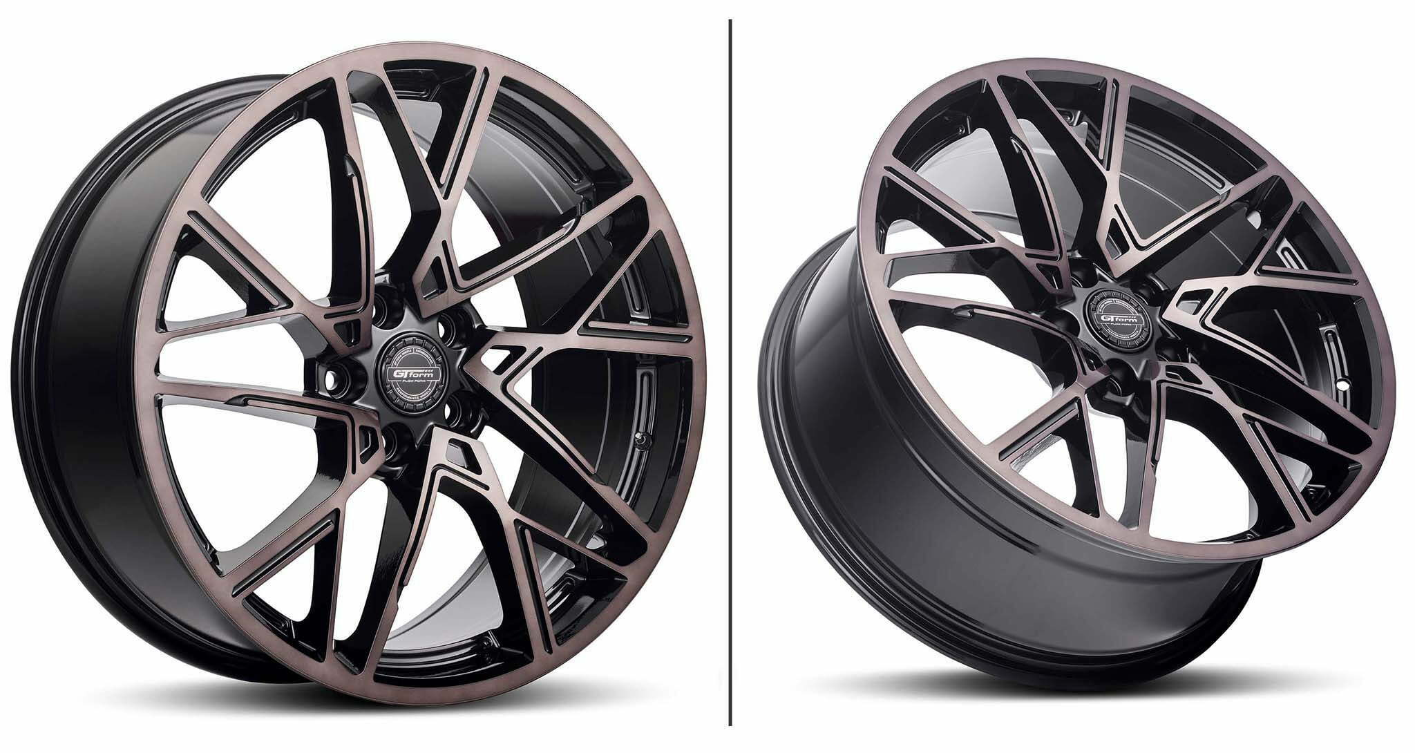 GT Form Interflow Black Tinted Wheel Performance Rims