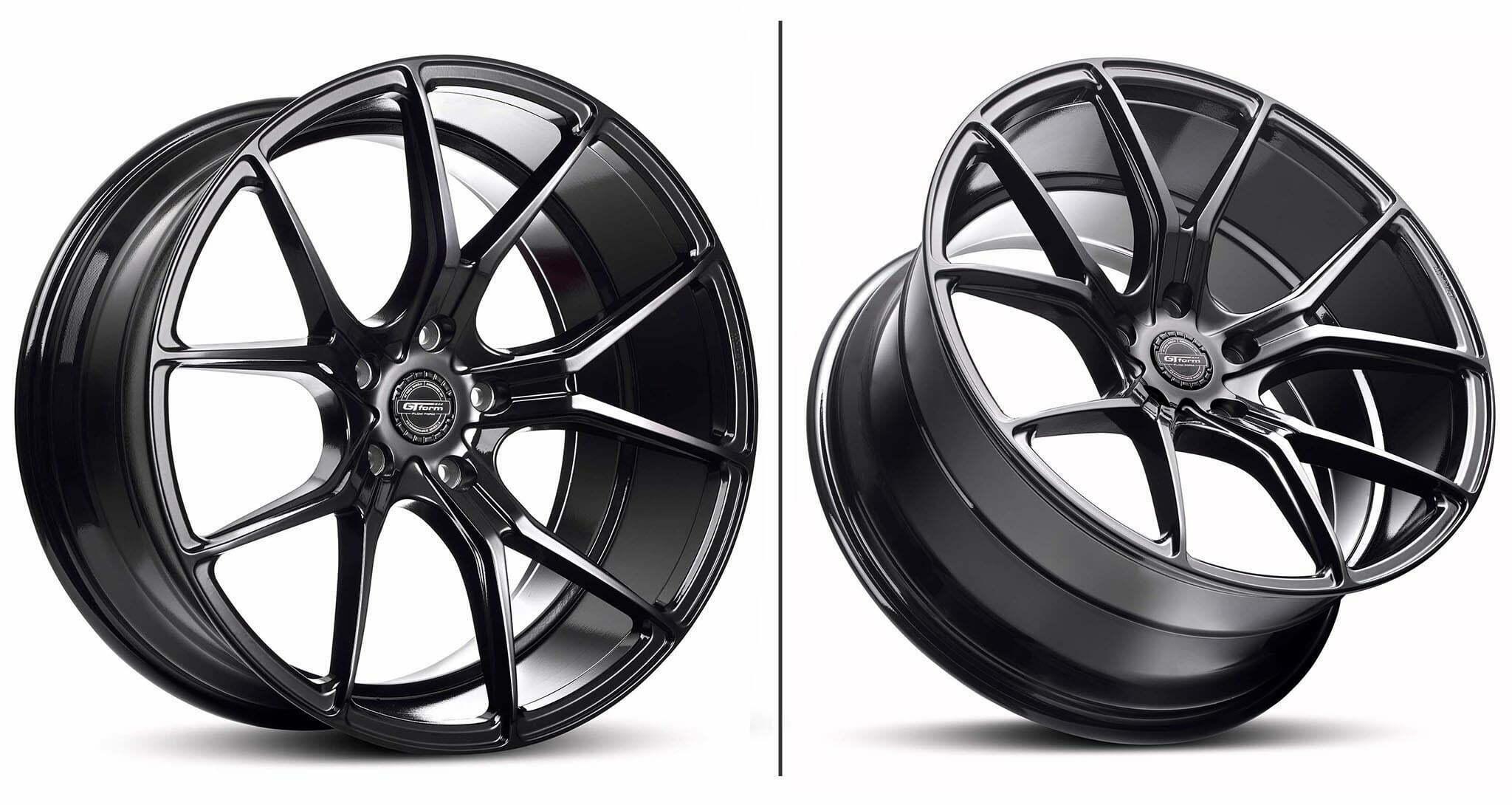 GT Form Venom Gloss Black Wheel Performance Rims