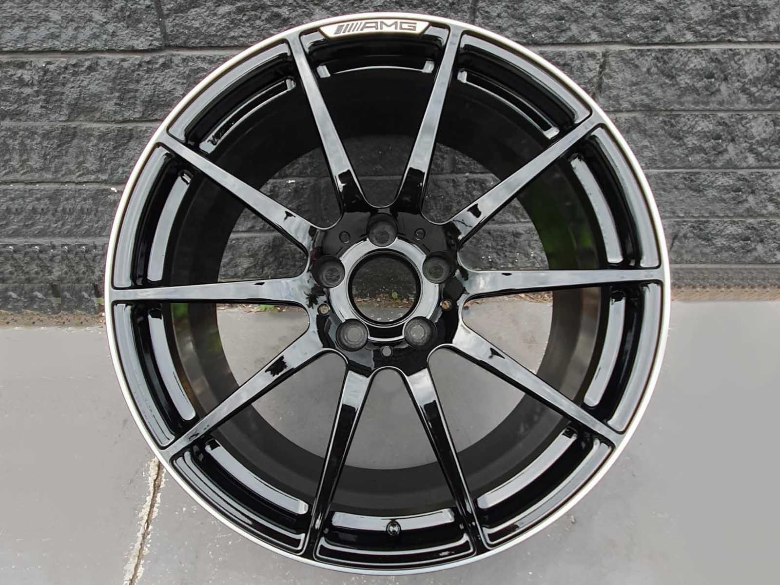 amg wheels colour change