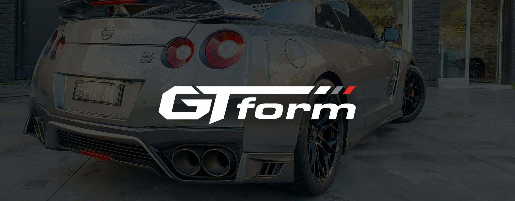 Nissan GTR R34 GT Form Marquee Satin Black Wheels