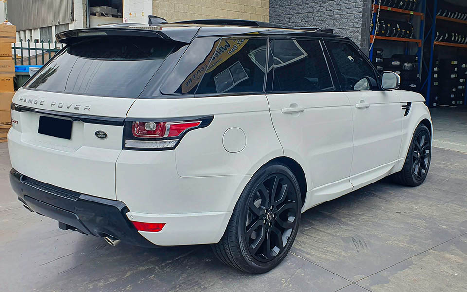Range Rover Sport Wheels Satin Black paint Rims P