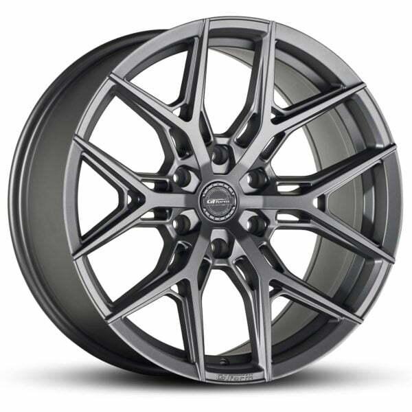 4x4 Wheels GT Form GF-S1 Satin Gunmetal Grey Wheels 6x139.7 rims
