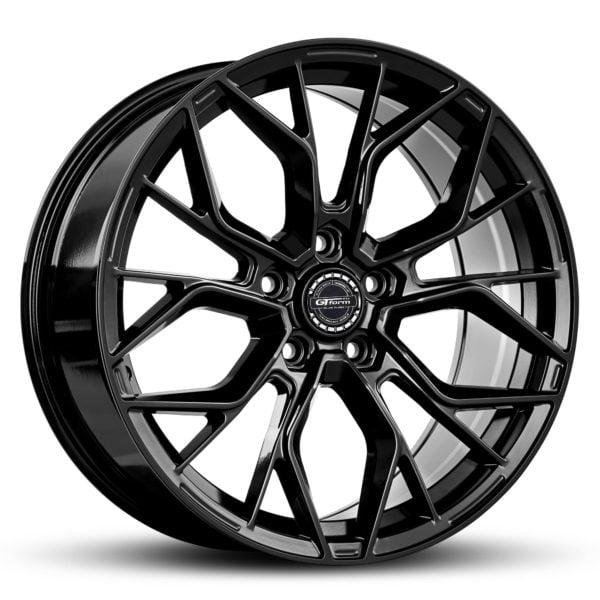 GT Form Marquee Gloss Black 18x8 Wheels Car Rims