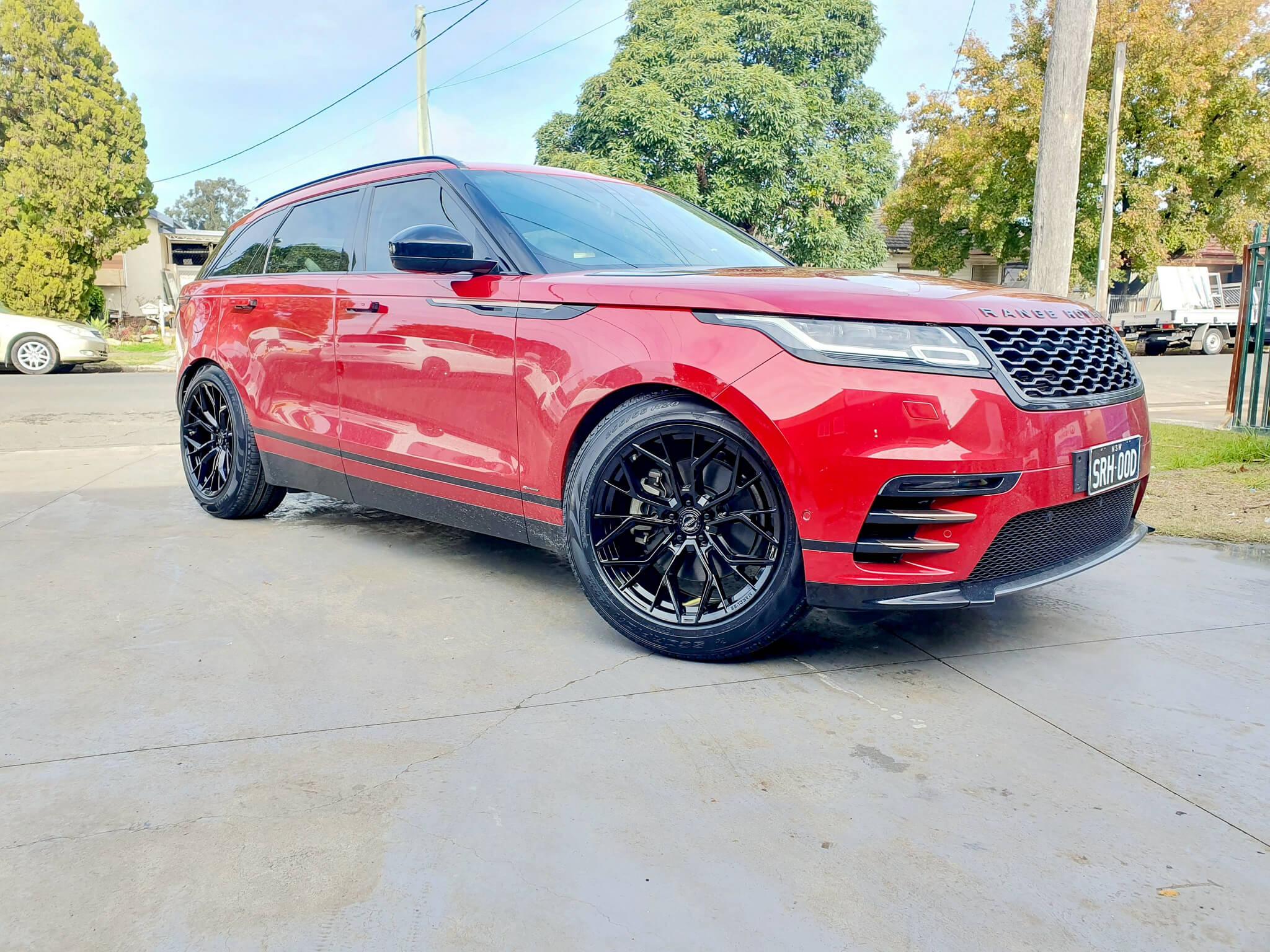 Range Rover Wheels 20 inch GT Form Marquee Satin Black