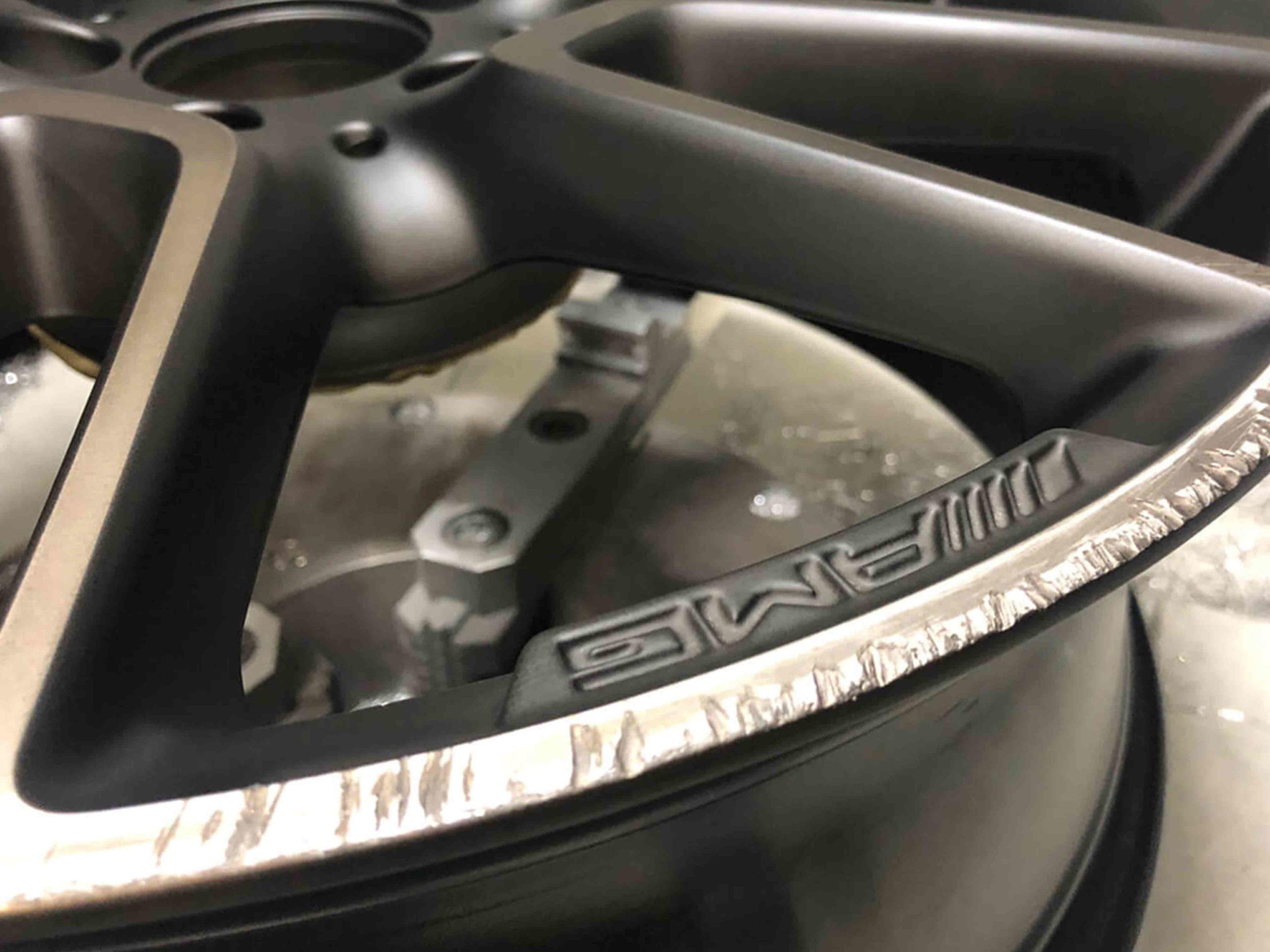 alloy wheel repair before