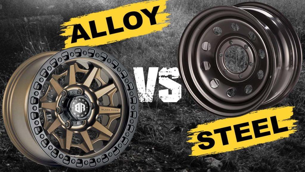 steel vs alloy wheels