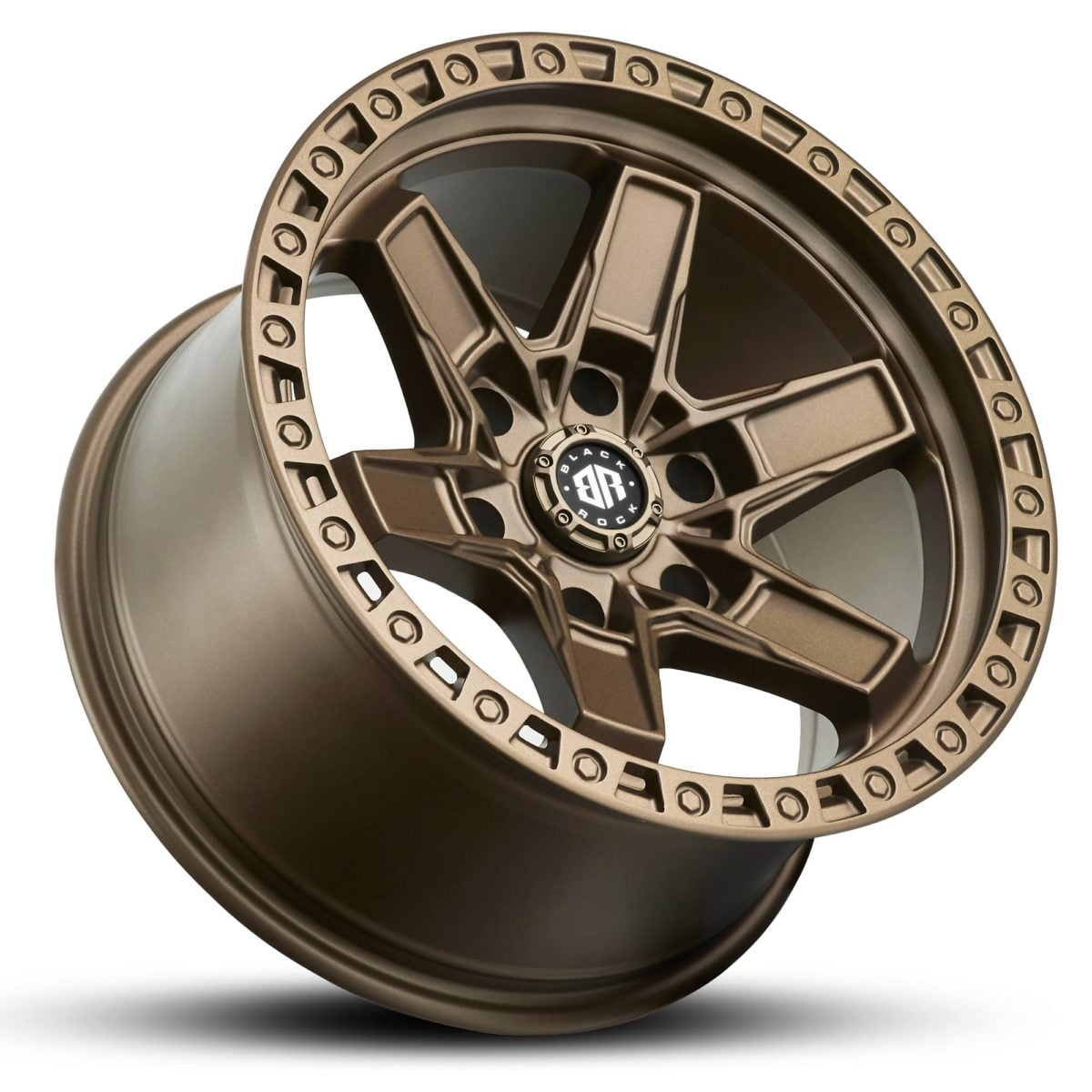 Black Rock Colt Satin Bronze 17x9 4x4 Rims