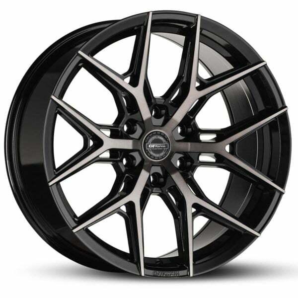 4x4 Rims GT Form GF-S1 Gloss Black Tinted 18x9 Wheels 6x139.7 rims