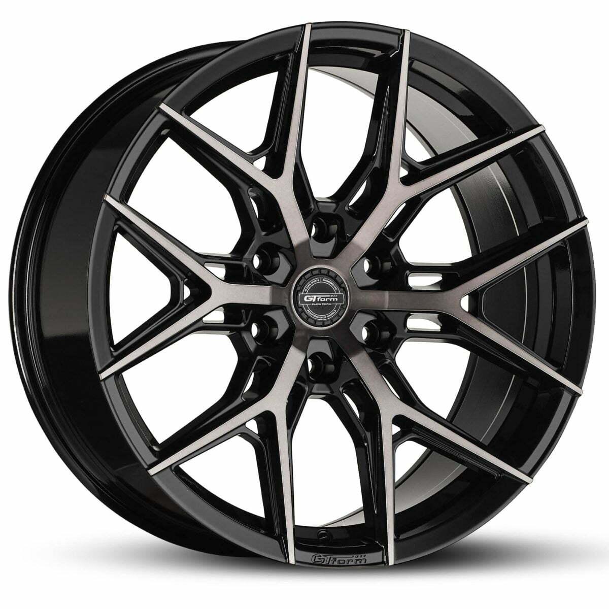 4x4 Wheels GT Form GF-S1 Gloss Black Tinted Wheels 6x139.7 rims