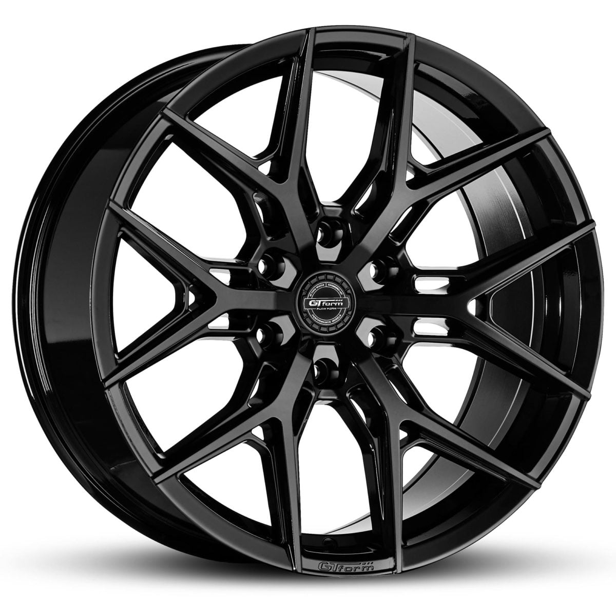 4x4 Wheels GT Form GF-S1 Gloss Black Wheels 6x139.7 rims