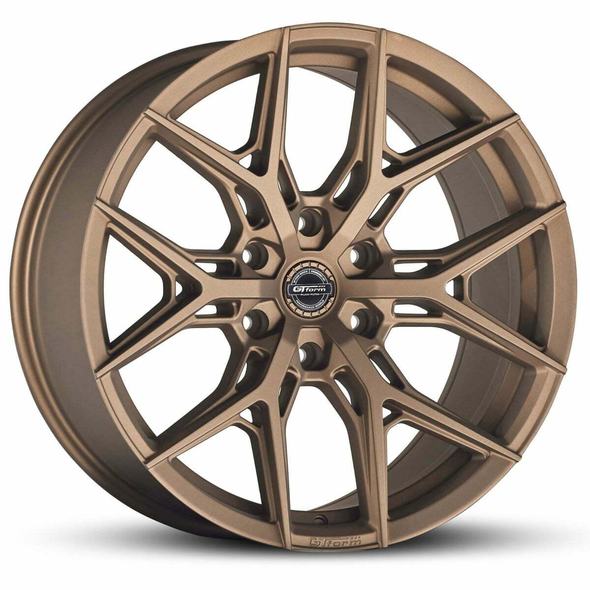 4x4 Wheels GT Form GF-S1 Matte Bronze Wheels 6x139.7 rims
