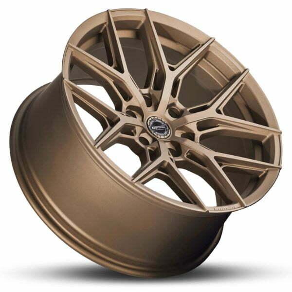 4x4 Rims GT Form GF-S1 Matte Bronze 18x9 Wheels 6x139.7 rims