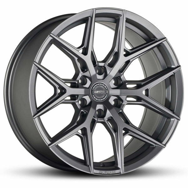4x4 Rims GT Form GF-S1 Satin Gunmetal Grey 18x9 Wheels 6x139.7 rims