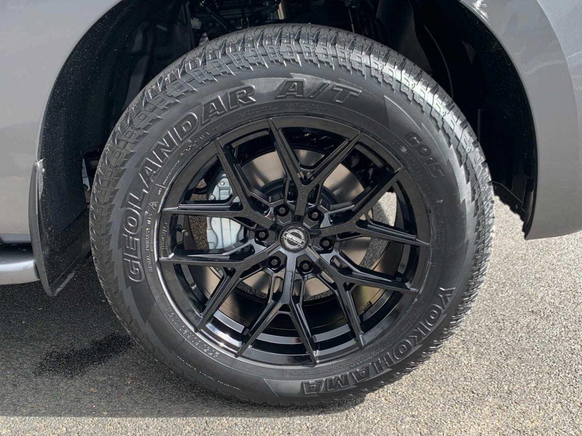 2021 Nissan Patrol wheels GT Form GFS Series GF-S1 wheels 20x9.5 gloss black rims