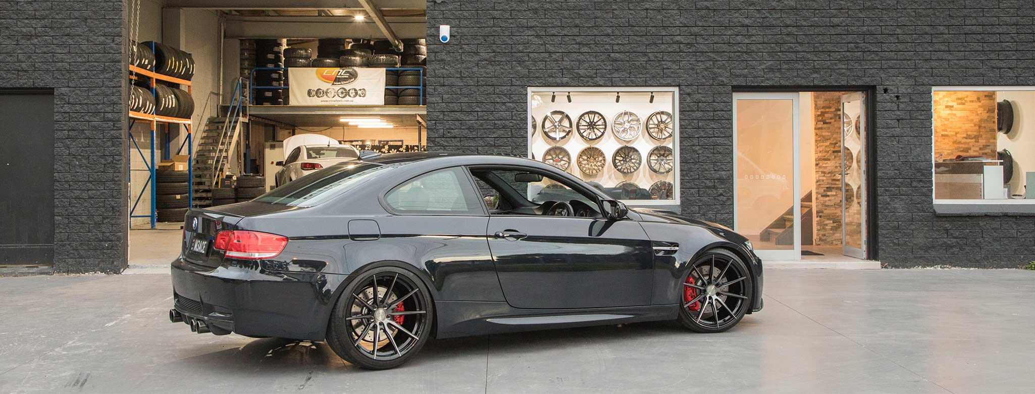 store showroom wheels and tyres cnc wheels