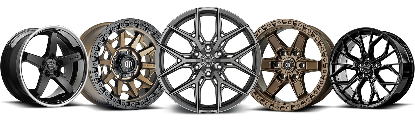 wheel and tyre packages 4x4 rims