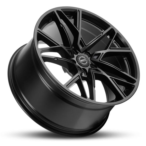 GT Form Interflow satin black wheels performance rims